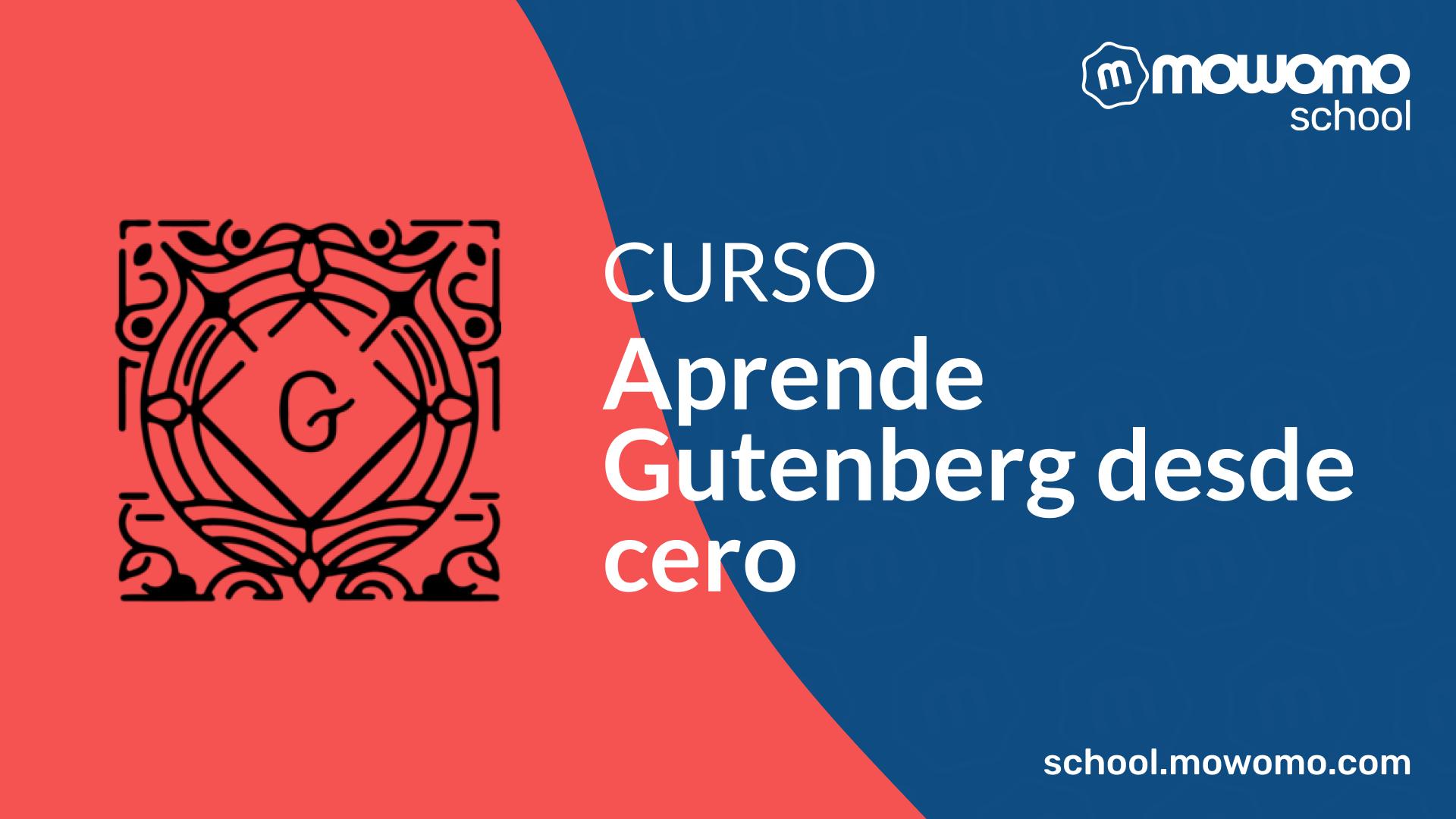 Aprende Gutenberg
